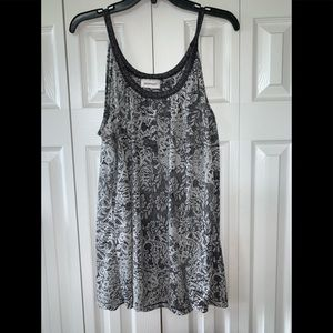 Avenue Light Weight Lace Look Tank Top 22/24